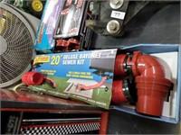 RV sewer hook up supplies