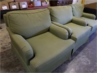 3 (sage colored) chairs