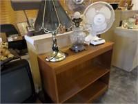 bookcase / lamp /fan