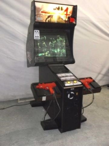 House Of Dead 4 Dedicated Cabinet Live And Online Auctions On