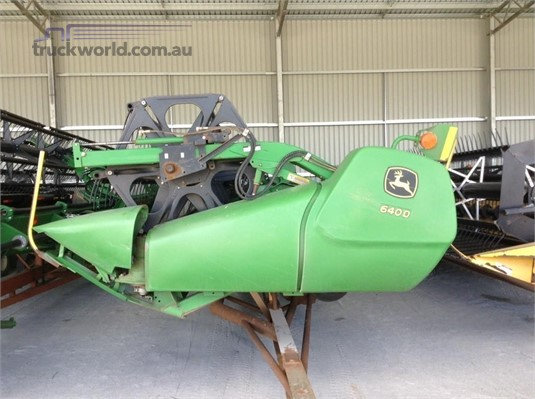 2010 John Deere 640D Farm Machinery for Sale