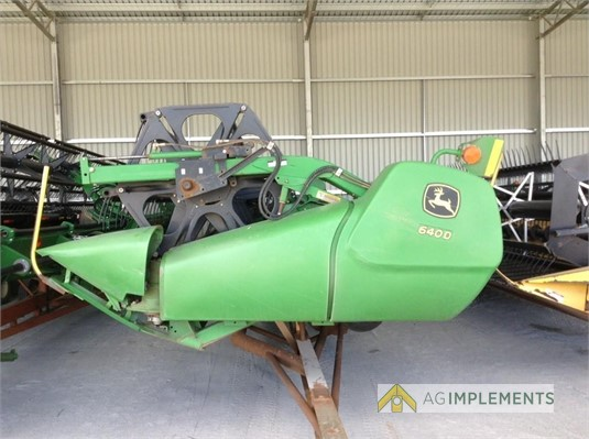 2010 John Deere 640D Ag Implements - Farm Machinery for Sale