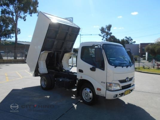 2015 Hino 300 Series 616 IFS Tipper City Hino - Trucks for Sale