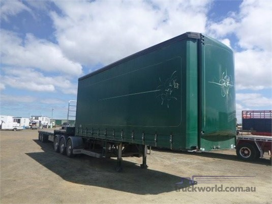 2009 Maxitrans Curtainsider Trailer Western Traders 87 - Trailers for Sale