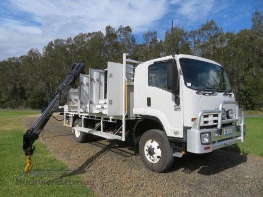 2012 Isuzu FTS 800 4x4 Trucks for Sale
