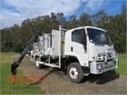 2012 Isuzu FTS 800 4x4 Crane Truck