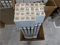 181 PAINTED SPINDLES