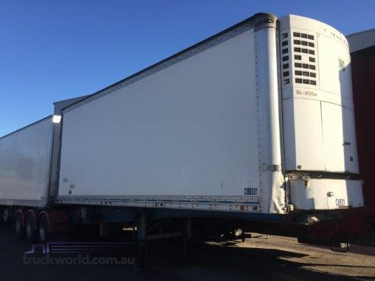 2003 Peki Refrigerated Pantech Trailer - Trailers for Sale