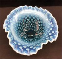 Fenton Opalescent Hobnail Dish