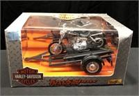 Harley Davidson Tow & Show Trailer