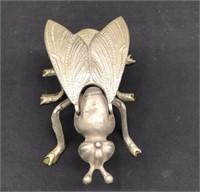 Brass Fly Ashtray