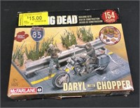 Daryl with Chopper The Walking Dead