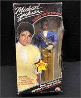 Vintage Michael Jackson Doll Grammy Awards Outfit