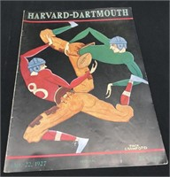 1927 & 1930 Harvard Official Programs