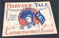 1904 Harvard-Yale Commencement Game