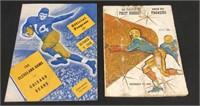 1936 & 1960 Football Programs
