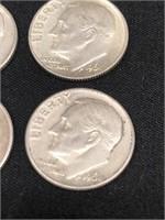 10-90% Silver Dimes