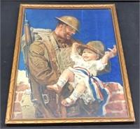 WWI Framed Print