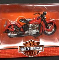 2-New 1998 Harley Davidson 1:18 Die Cast