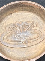2-Royal Values Cast Iron Ashtrays