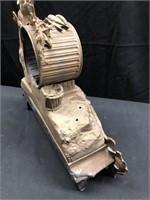 Antique Cart Metal Hunter Clock Casing