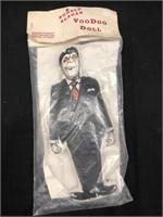 Vintage Ronald Reagan VooDoo Doll Original Package