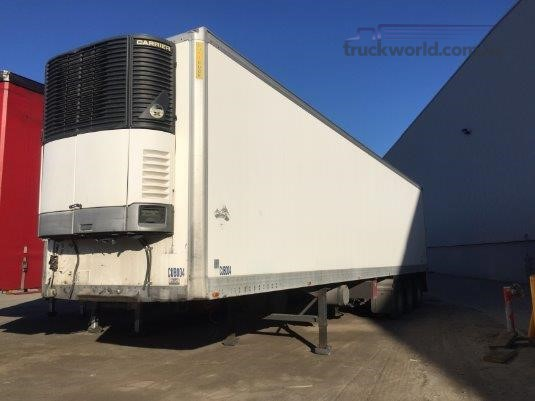 2004 Maxitrans 22 Pallet Refrigerated Pantech Semi Trailer - Trailers for Sale