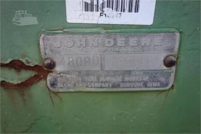 JOHN DEERE 480-B Auktionsergebnisse - 2 Auflistungen ... on