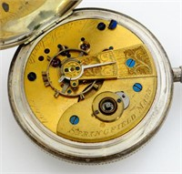 New York Watch Co, Chester Woolworth, 18S