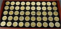 Gold & Silver Highlighted Statehood Quarter Set