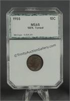 1955 Roosevelt 1981 Susan B. Anthony Graded Coins