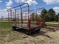 Meyers Bale Wagon