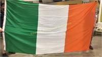 Four Various Flags USA Ireland Swiss Scotland