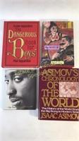 4 Various Books My Secret Life & Book For Boys