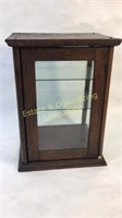 "Antique Wooden Display Case 16""L X 12""W"