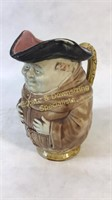 Antique French Friar Monk Pitcher France Frie