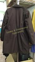 Eddie Bauer Lined Brown Coat Medium