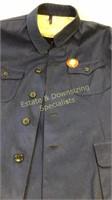 Chairman Mao Inspired Worker's Blue Coat