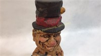 W.C. Fields in Tub Chalk Figure