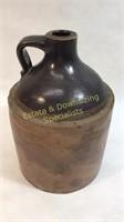 Stoneware Handle Whiskey Jug