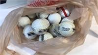 Lot of Golf Balls Pinnacle Top Flight
