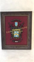 Dunn Family Crest & Coat of Arms Wall Art