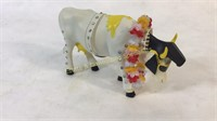 Cow Parade Figurines & Ceramic Donkey & Pitcher