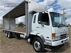 Fuso Fighter FN14 6x4|Table / Tray Top with Gates|Tautliner / Curtainsider