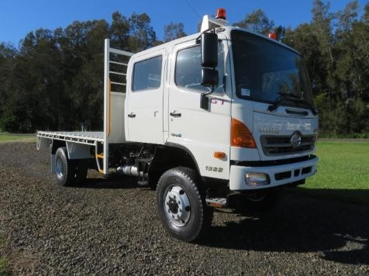 2013 Hino 500 Series 1322 GT 4x4 Crew - Trucks for Sale