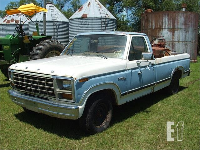 1981 Ford F150 >> Lot 529 1981 Ford F150 For Sale In Meno Oklahoma