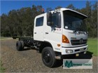 2009 Hino 500 Series 1322 GT 4x4 Crew Cab Chassis