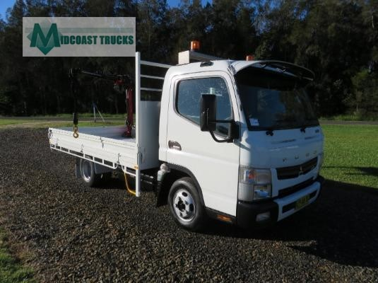 2012 Fuso Canter 515 Midcoast Trucks - Trucks for Sale