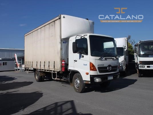 2004 Hino FD Catalano Truck And Equipment Sales And Hire - Trucks for Sale