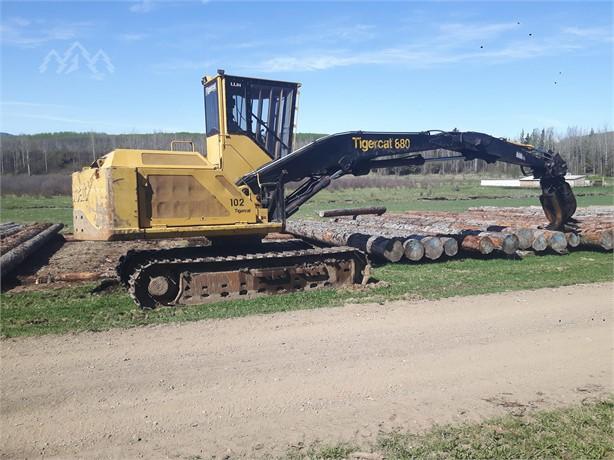 TIGERCAT 880 Track Log Loaders Logging Equipment For Sale